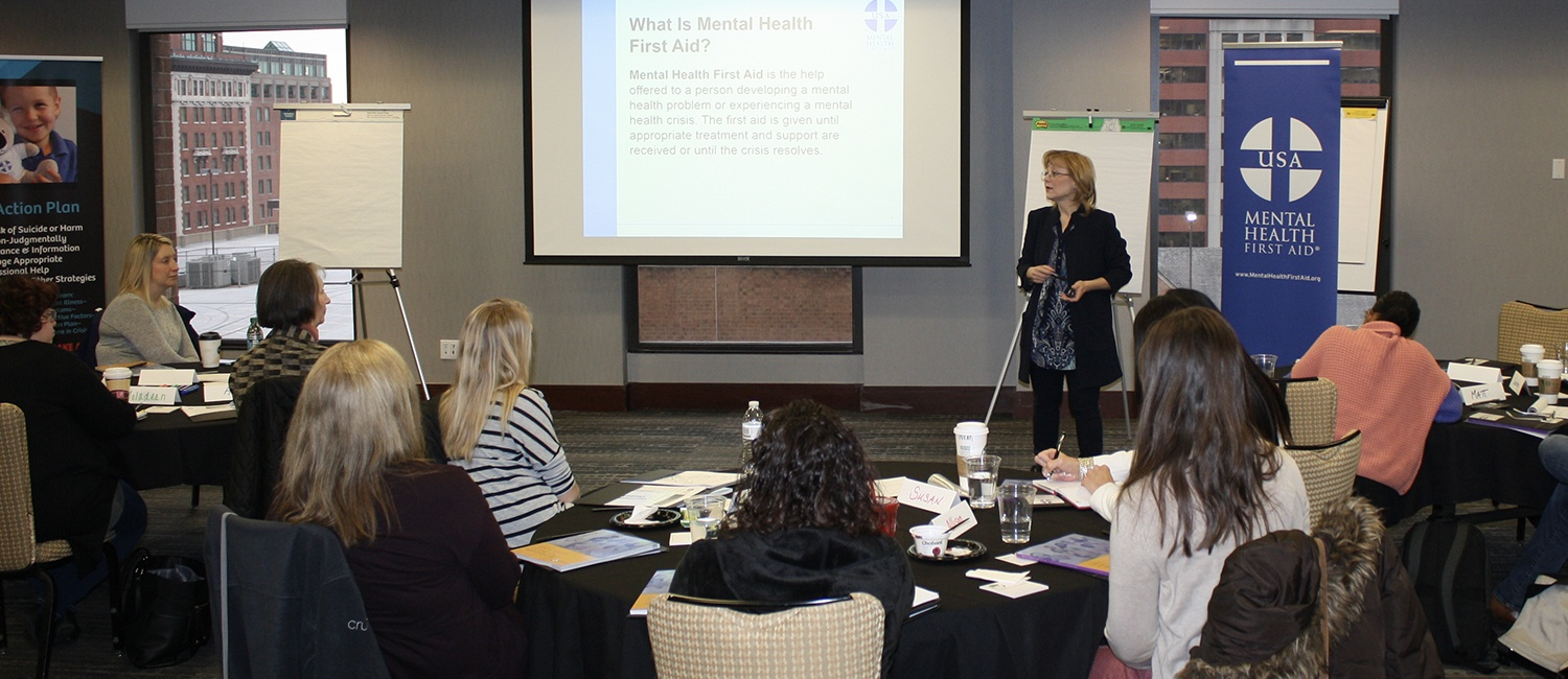 Mental Health First Aid Employer Training