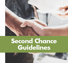 Second Chance Guidelines